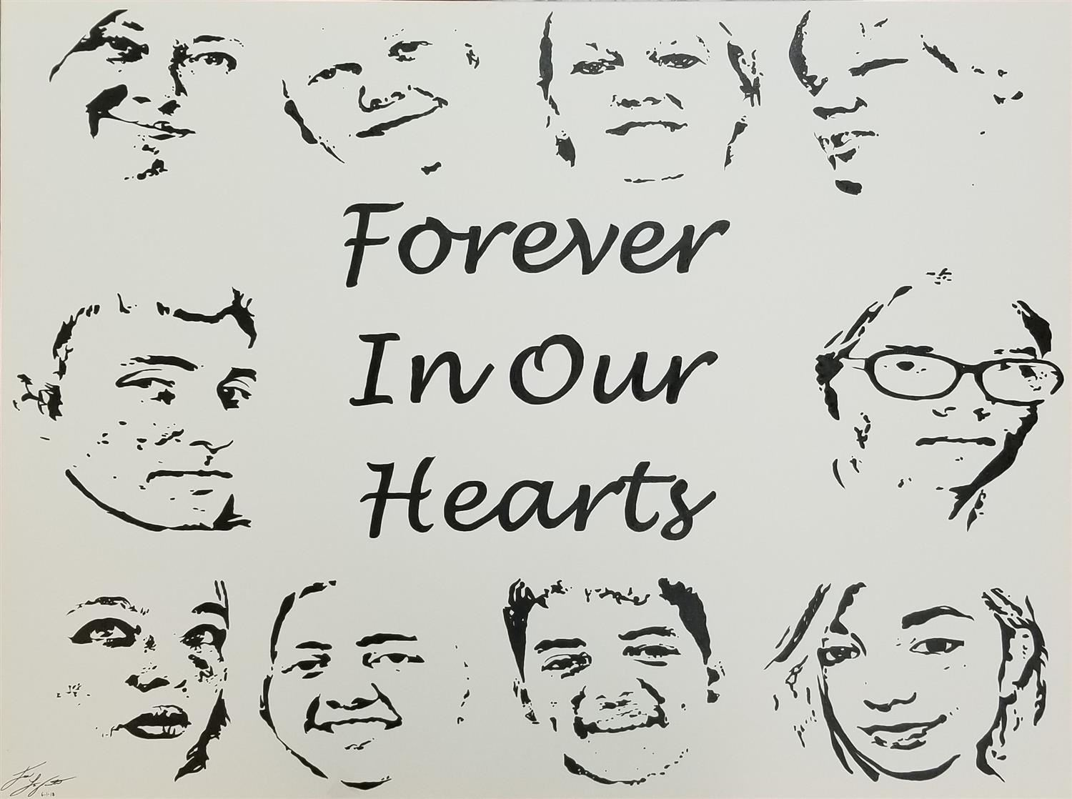 Forever in Our Hearts Graphic
