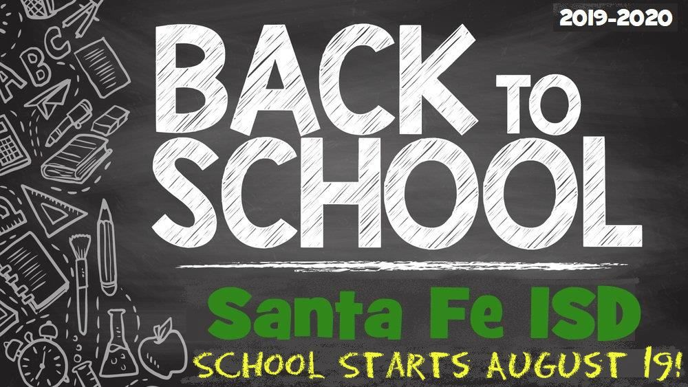Back To School 2019 2020 Home