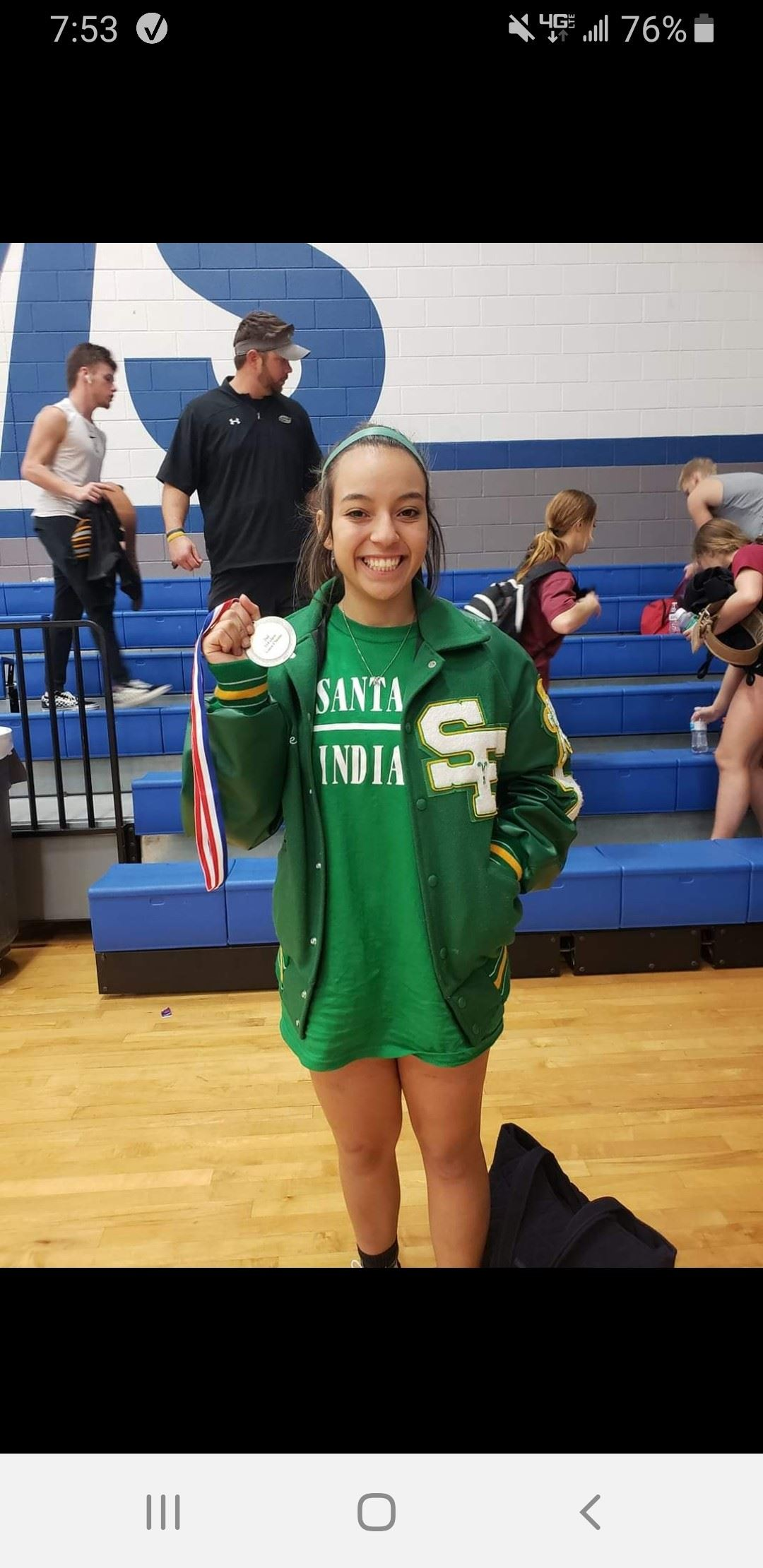 Gracie Cervantes 2nd place finish at Dickinson