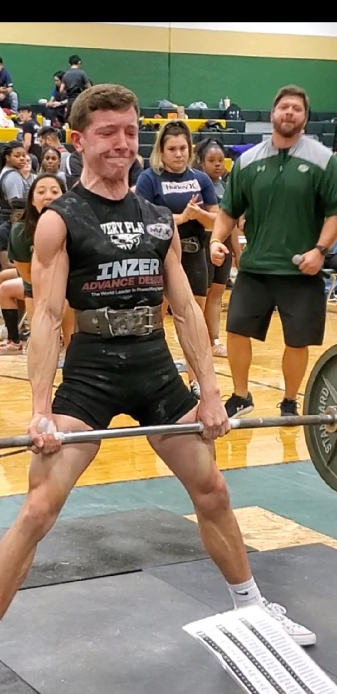 Jacob Cavness Deadlifting at the Santa Fe Meet
