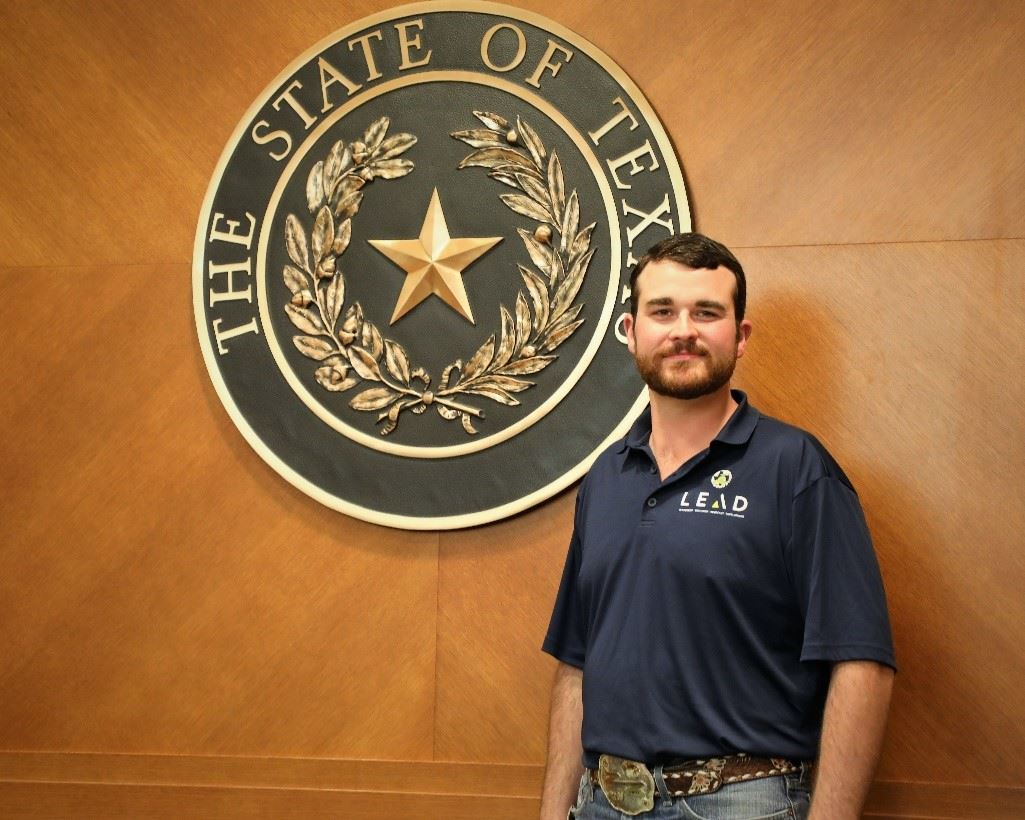 Brandon Noto SFHS Agriculture Science Teacher chosen to join the 2019 LEAD Experience for Texas Agriculture Science Teachers