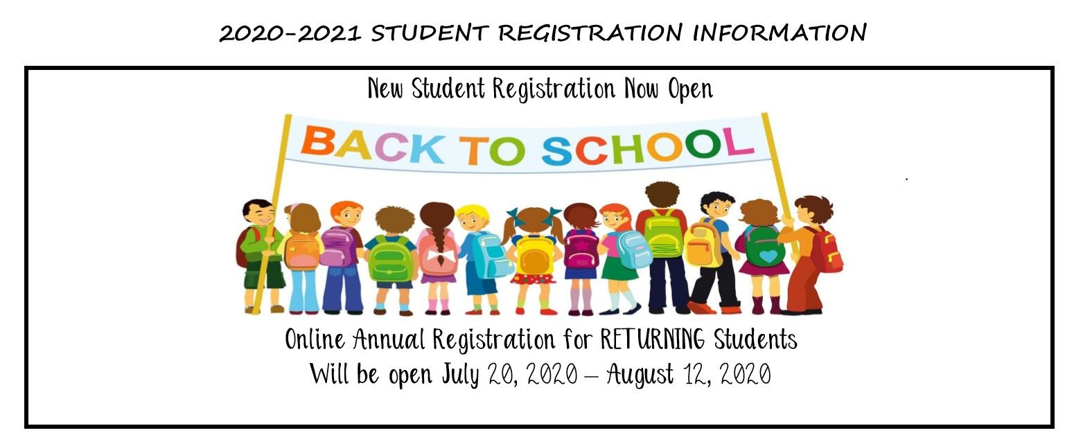 20-21 Back to School Information