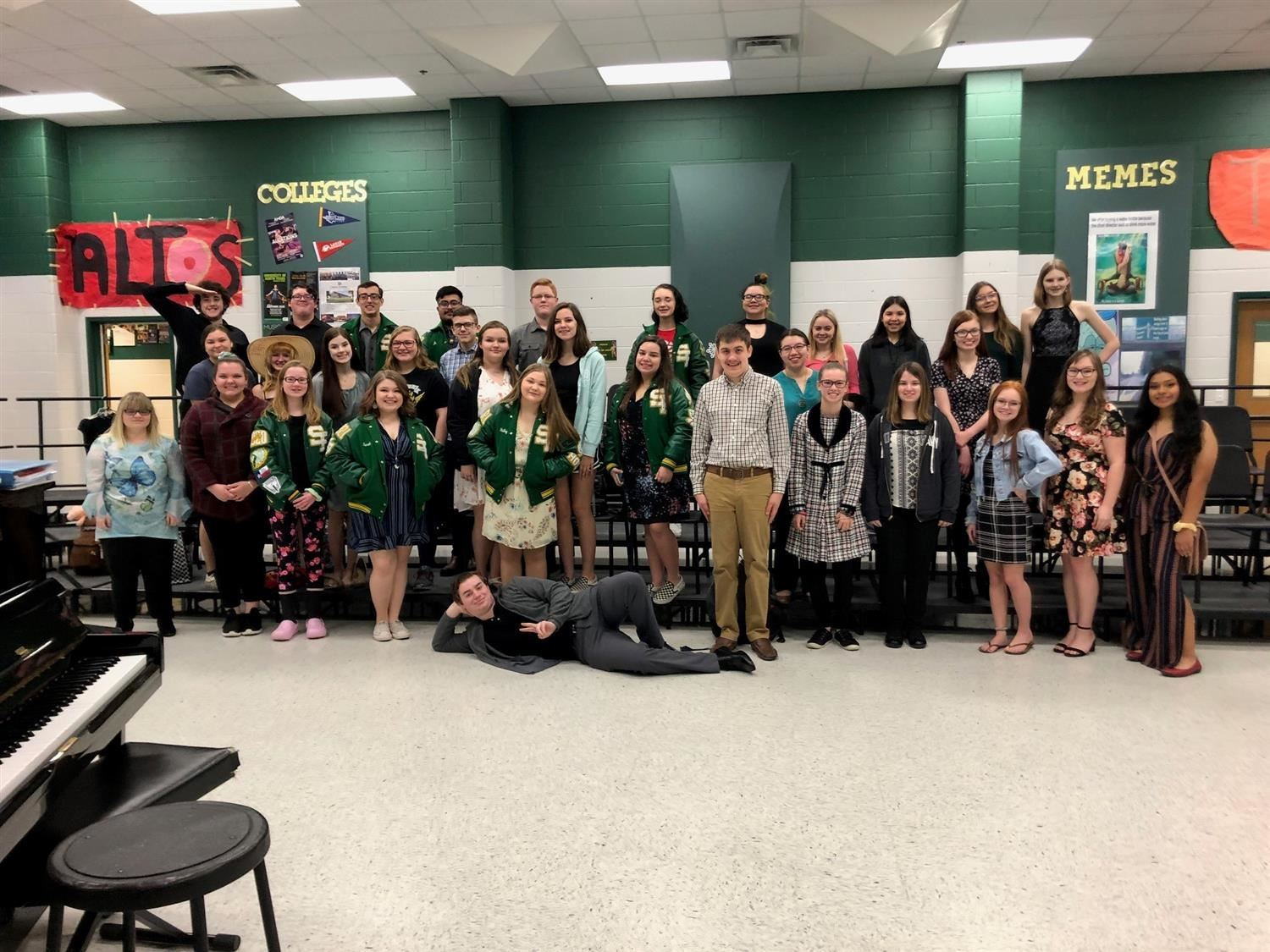 Region Round of UIL Solo and Ensemble Competition