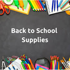 2019-2020 PK-5 School Supply Lists