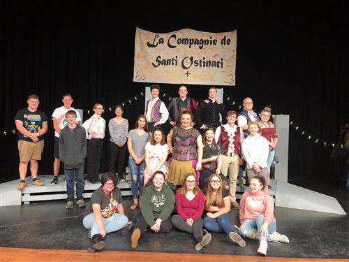 Cast and Crew of A Company of Wayward Saints