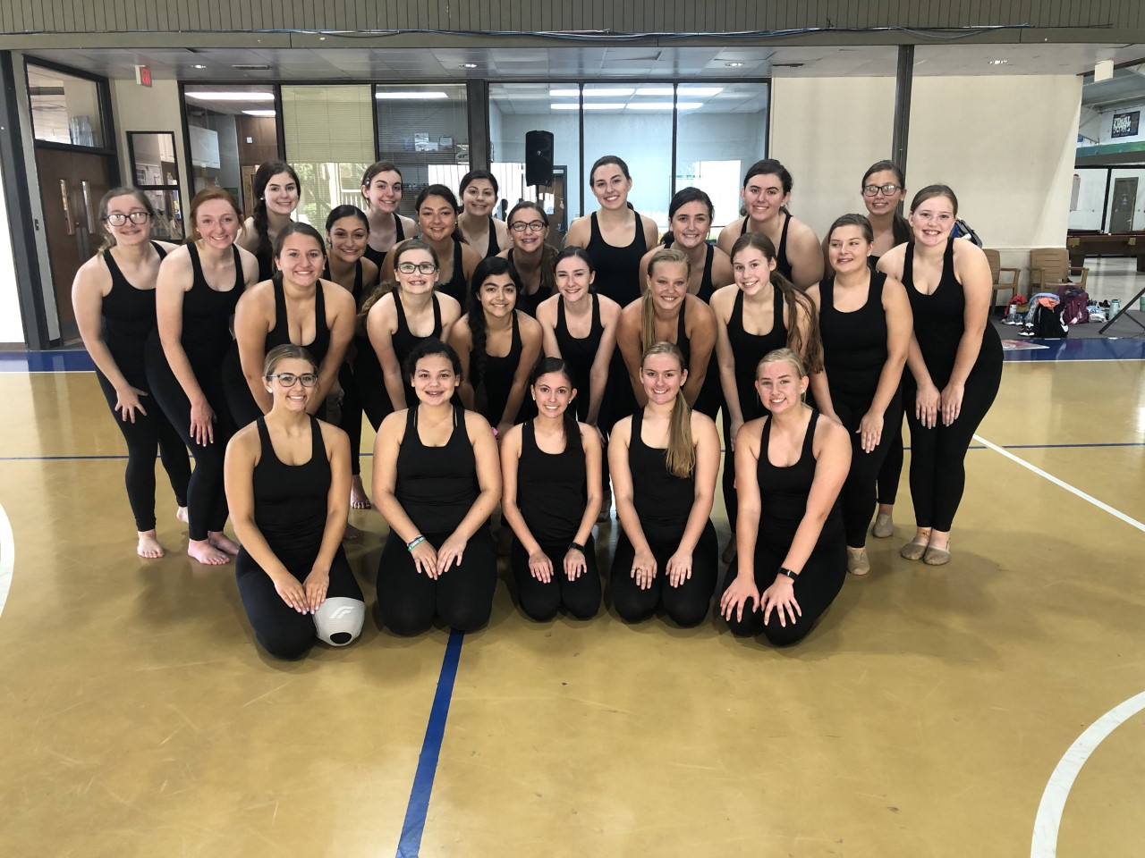 SFHS Tribal Belles Team Camp Awards