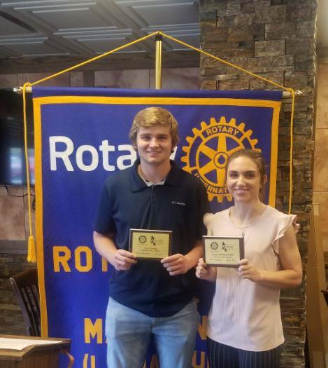 Santa Fe High School Rotary Students of the Month, January 2020