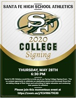2020 Athletic Spring Signing