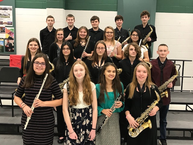 HS Band Performs at UIL Solo and Ensemble Contest